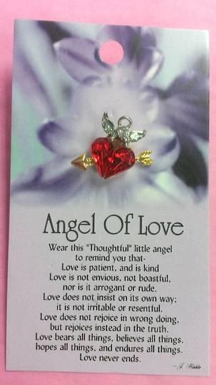 Angel Of Love Brooch