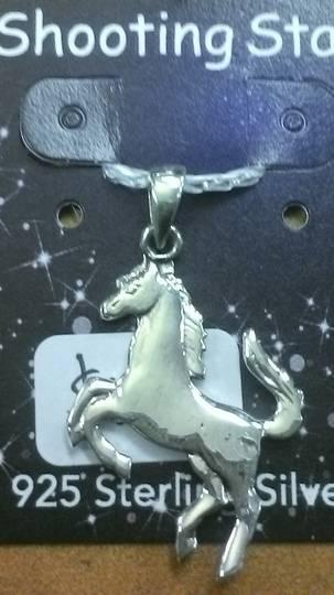 Silver Horse Pendant