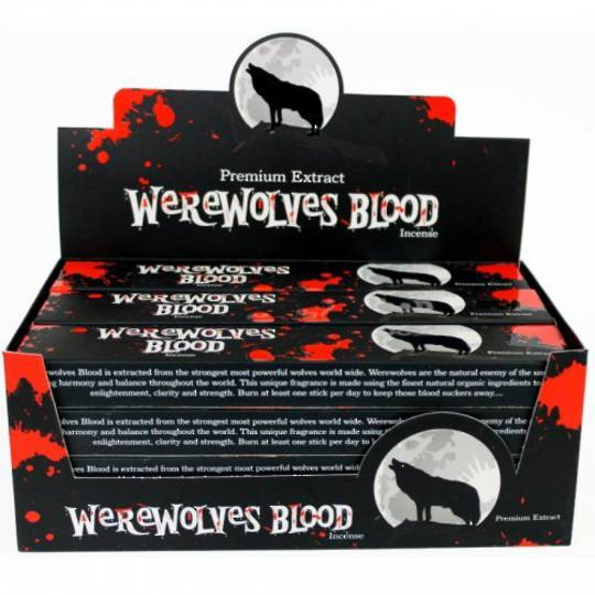 Werewolves Blood Incense Sticks
