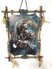 Wolf Eagle Dreamcatcher