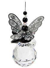Black Butterfly on Sphere  Suncatcher was $40 now $30