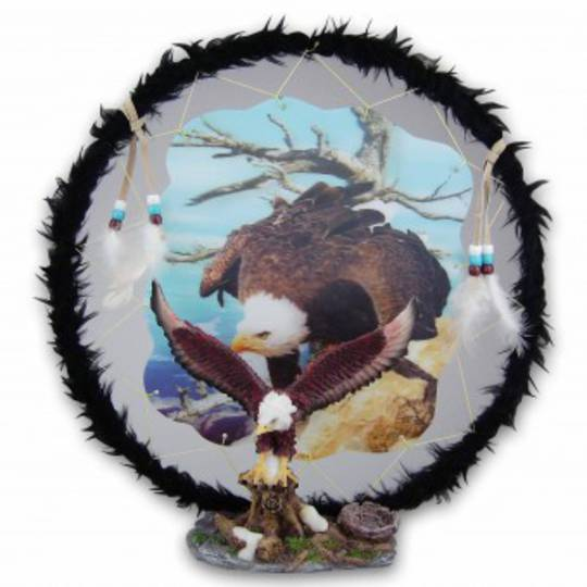 Eagle Dreamcatcher Ornament