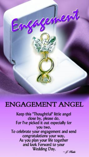 Engagement Angel Pin