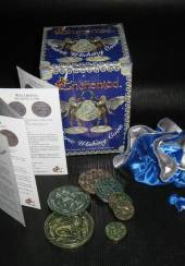 Enchanted faerie wishing coins