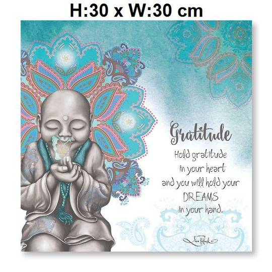 Gratitude LED Canvas Mindful Soul