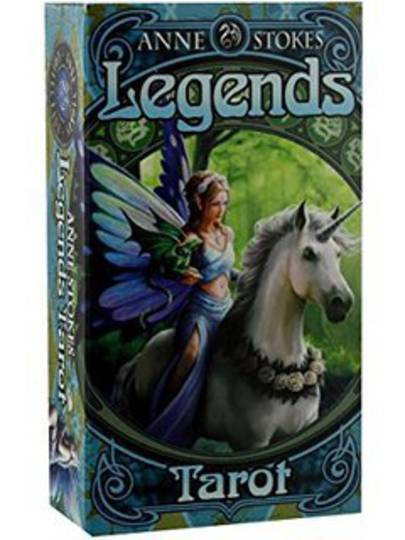 Legend Tarot Cards By Anne Stokes