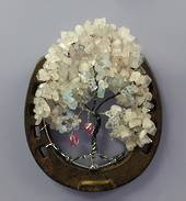 Lucky in Love Crystal Horseshoe Tree