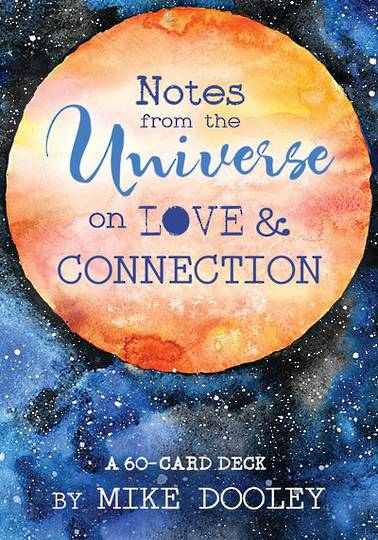 Notes from The Universe on Love and Connection Oracle Cards