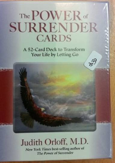 The Power of Surrender Oracle Cards