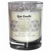 Gemstone Candle – Cleansing Selenite
