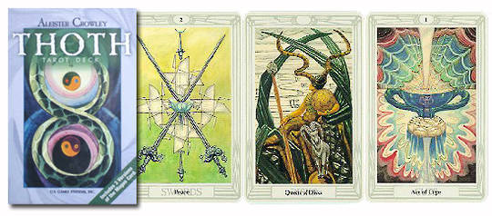Aleister Crowley Thoth Tarot Deck (Standard Deck)