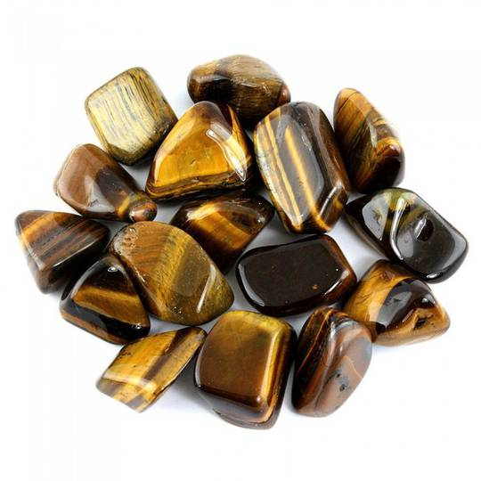 Small Tigers Eye Tumbled Piece