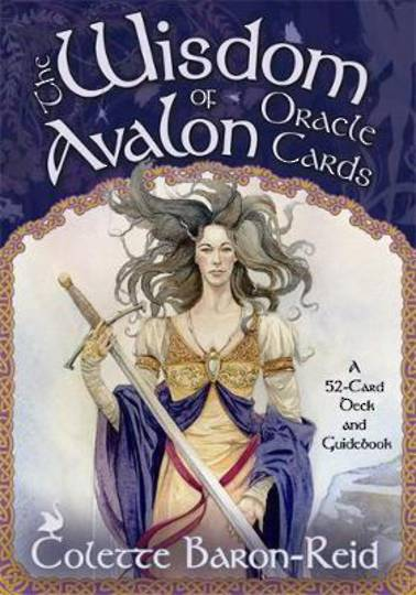 Wisdom of Avalon Oracle Cards by Colette Baron Reid