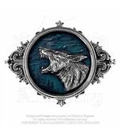 Alchemy Wulven Wolf Belt Buckle