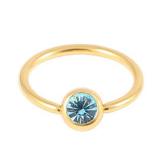 Zircon gold Light Blue BCR