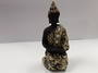 Black and Gold Kneeling Buddha