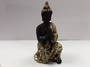 Black and Gold Praying Buddha