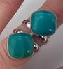 Twin Amazonite Ring