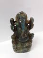 Labradorite Carved Ganesh