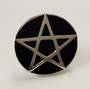 Pentagram and Onyx Ring