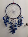 Dark Blue Web Dreamcatcher 32cms