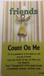 Count on Me Angel Pin/Brooch