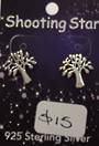 Silver Tree Studs