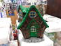 Green Fairy House Cone Incense Holder