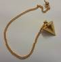 Small Gold Metal Pendulum