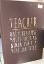 Teacher Journal Ninja