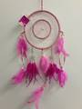 Cerise and Pale Pink Dreamcatcher