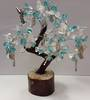 Gem Tree Blue Topaz & Clear Quartz-Guardian Angel-Guidance