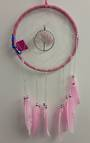 Rose Quartz Tree Dreamcatcher 20cms