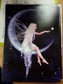 Fairy on Moon Card and Envelope