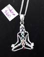 Sterling Silver Chakra Pendant and Chain