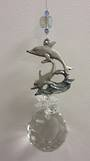 Riding The Wave Dolphin Suncatcher