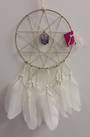 White Elf Star Amethyst Dreamcatcher