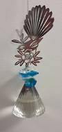 Blue Cluster Diamond Fantail Suncatcher