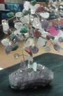 Multistone Crystal Tree 13.5cms