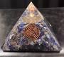 Lapis Crystal Orgonite Pyramid