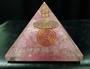 Rose Quartz Orgonite Pyramid