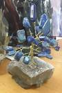 Lapis Crystal Tree on Amethyst Base