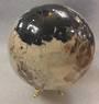 Moonstone and Black Tourmaline Crystal Ball MTJ9