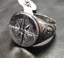 Compass Mens Ring 1.8cm