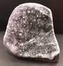 Purple and Black Standing Amethyst Druzy Crystal  (sad4)