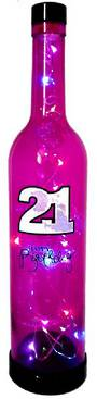 21st Happy Birthday Magic Bottle