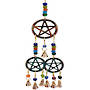 35cm 3 Pentacle Brass Bell Chime