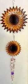 Crystal Wind Spinner Sun