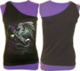 DRAGON ROSE - 2in1 Slant Top Purple and Black XXL was $65 now $35