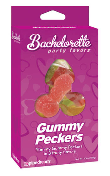 GUMMY PECKERS Penis lollies